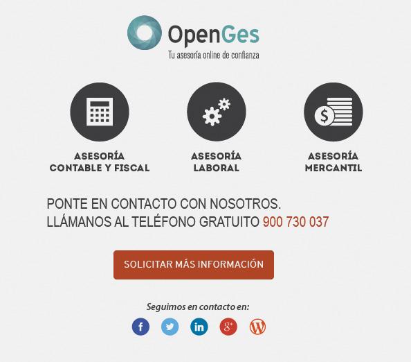 OpenGes, asesoría on-line de confianza